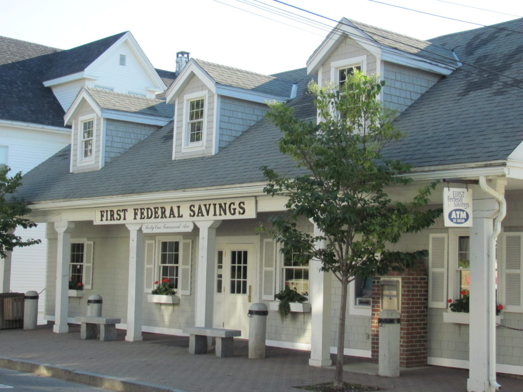 exterior photo of our Boothbay Harbor Maine branch